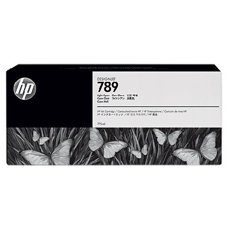 HP 789 Yellow Latex Designjet Ink Cartridge (CH618A) - 12pl
