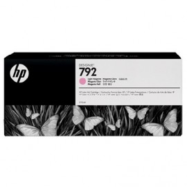 HP 792 Light Magenta Latex Designjet Ink Cartridge (CN710A)