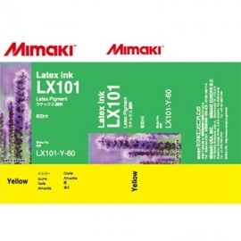 LX101 Ink Pack 600ml Yellow (Latex Ink )