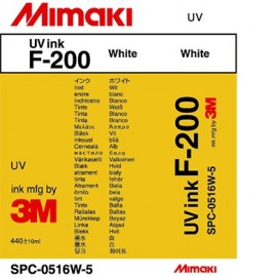 F-200 Ink Cartridge 440ml White (UV INK)
