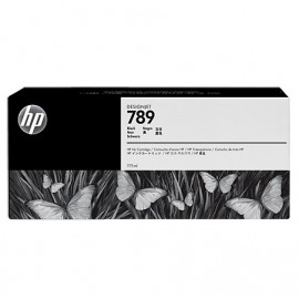 HP 789 Black Latex Designjet Ink Cartridge (CH615A)