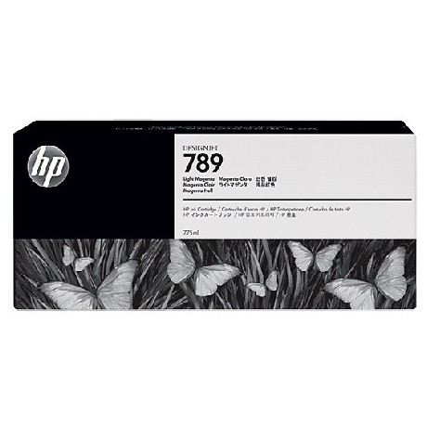 HP 789 Light Cyan Latex Designjet Ink Cartridge (CH619A) - 12PL