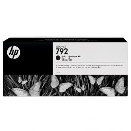HP 792 Black Latex Designjet Ink Cartridge (CN705A)