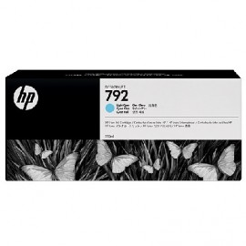HP 792 Light Cyan Latex Designjet Ink Cartridge (CN709A)
