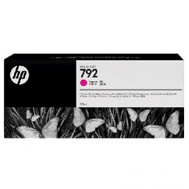 HP 792 Magenta Latex Designjet Ink Cartridge (CN707A)