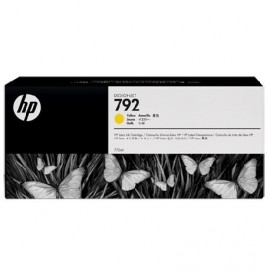 HP 792 Yellow Latex Designjet Ink Cartridge (CN708A)